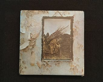 Vintage 70's Led Zeppelin IV Pin/Button