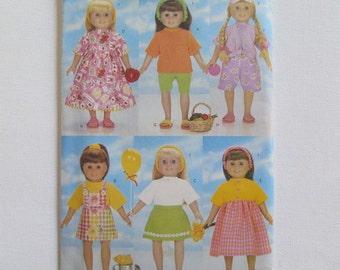 Doll Sewing Pattern, Butterick 5452, American Girl Sewing Pattern