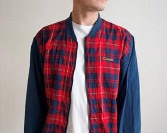 Vintage 90's Check Jacket