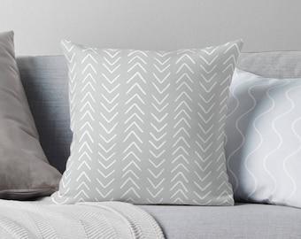 Neutral Pillow Covers Throw Pillows Neutral Home Decor Grey