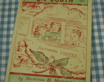 the triplets go south, vintage 1954 children's book
