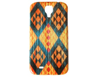 Indian Turquoise Aztec Diamonds For Samsung Galaxy S5 Case S4 Back Cases Tribal Hard Plastic 5 4 Model Generation Navajo Cell Phone New c16