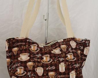 Espresso theme tote bag