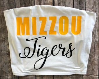 University of Missouri Tube Top / Mizzou Tailgate Tube Top
