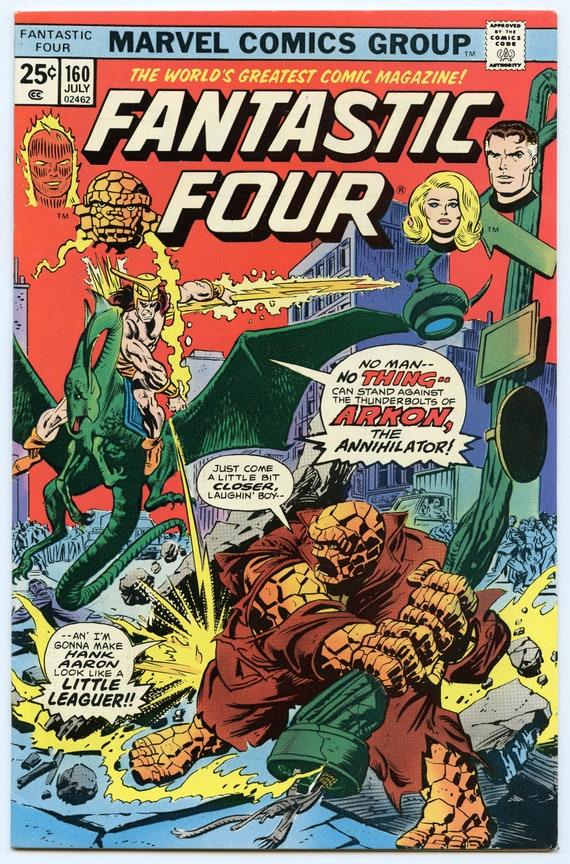 Fantastic Four 160 Jul 1975 VF+ (8.5)
