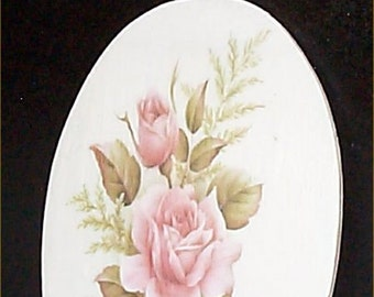 Shabby Chic Powder Room Wall Plaque Sign Cottage Country