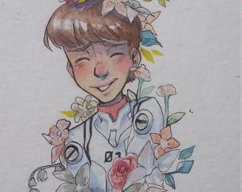 Ikari EVA Watercolor