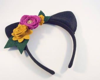 Cat Ears Headband - Halloween Cat Ears Costume