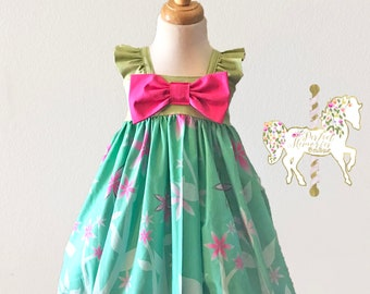 Frozen Fever Dress | Elsa Princess Dress | Spring Dress | Disney Vacation | Birthday Dress | Frozen Fever | Princess Dress | Disney Dress