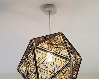 Lampshade etsy kumiko icosahedron lampshade 001 keyboard keysfo Gallery