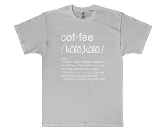 Coffee Defined Graphic Tee Joe Java Hope In A Cup T-Shirt