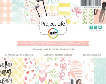 "Project Life 6x6"" Inspired Edition Paper Pad"