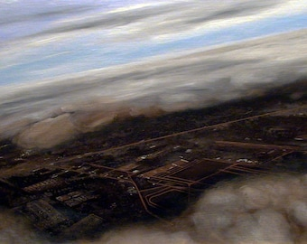 Departure. Original Oil Landscape Painting. 18 x 24