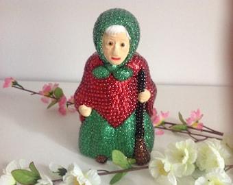 Handmade sequin Figure .