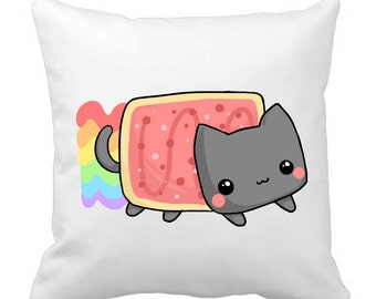 Cute nyan cat Pillow sleeve