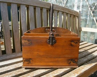 Edwardian Pine Housemaids Bucket--Antique.