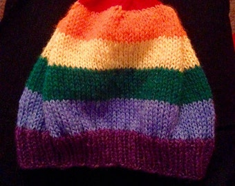Pride flag hat