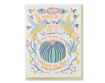 Birds Do It Card