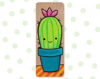 Cactus cutie | Original Mini Wood Painting