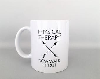 Physical Therapy Mug, Physical Therapy Mugs, PT Mug,  PT Mugs, PT Gifts, Physical Therapy Graduation Gift, Physical Therapy Gifts