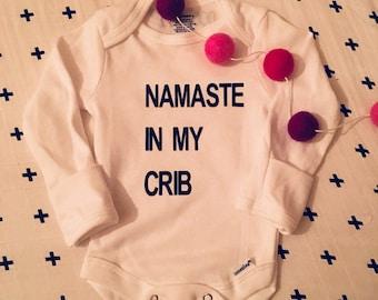 NAMASTE in my CRIB