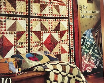 A Few of My Favorite Scrap Quilts Pattern Book by Christiane Meunier Vintage & Modern RARE!