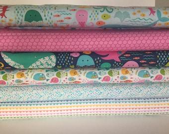 Go Fish - 6 Fat Quarters - Blend Fabrics - Maude Asbury