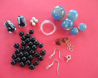 Beading Kit, customize your own necklace and earrings earrings.