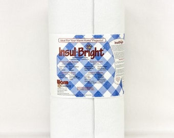 """45"""" wide Insul-Bright insulated batting by the yard"""