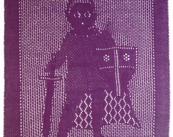 Little Knight Baby Blanket
