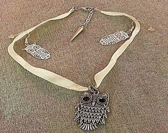 OWL Choker necklace