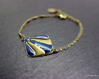 Art deco Theodora bracelet