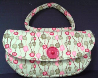 Lime Green / Pink / Red purse