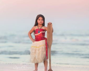 Custom Moana inspired costume tutu dress 4