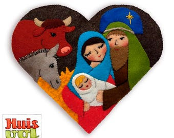 PDF Pattern Heart Joseph and Mary (English)