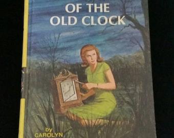 Vintage Nancy Drew The Secret of the Old Clock #1 Carolyn Keene 1959