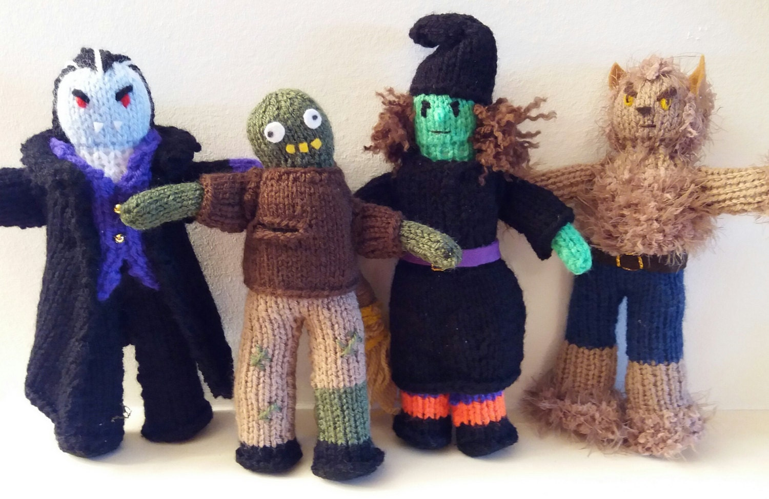 Wicked WITCH - knitting PATTERN - to make knitted doll. Wizard of Oz ...