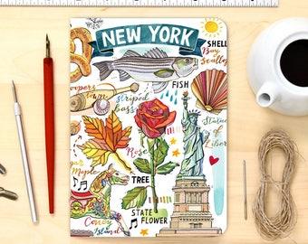 New York notebook.