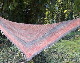 """Download Knitting Pattern  Shawl  """"Charlotte"""""""
