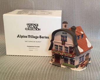 Dept 56 Heritage Village  - Alpine Collection, Metterniche Wurst