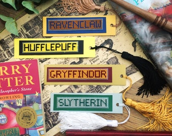 Harry Potter Hogwarts House Bookmarks