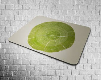 mousepad GREEN TREE RING
