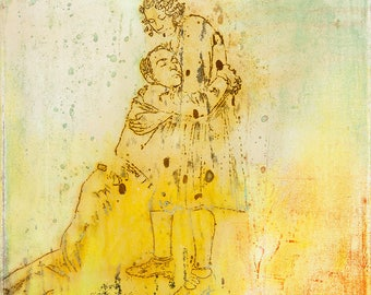 281 - Fine Art Print OR Original Painting, Giclee, Art