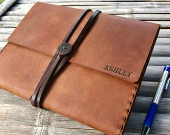 Writing Journal // Journals // Refillable Journal // Personalized Jounral // Leather Journal // Leather Notebook // Blank Book