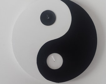 Yin and Yang Tea Light Candle Holder