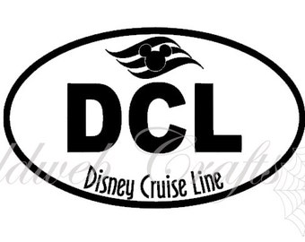 DCL - Disney Cruise Line Inspired Vinyl Car Decal