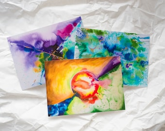 Postcards: Pack of 3