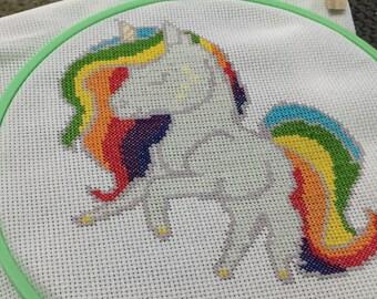 Unicorn Cross Stitch Pattern