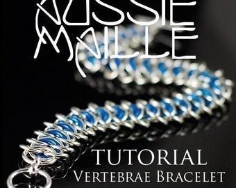 Chainmaille Tutorial - Vertebrae Bracelet