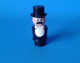 """Fisher Price Little People """" #934 Western Town Mayor """" 1970's"""